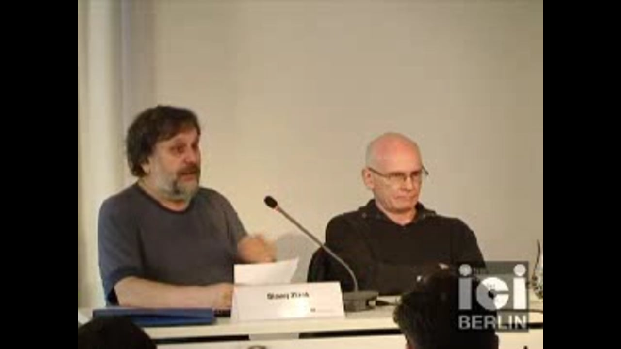 Lecture by S. Žižek / 1