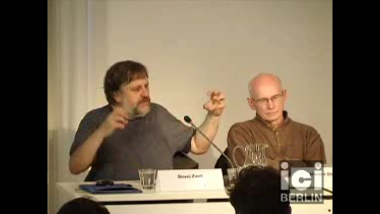 Lecture by S. Žižek / 4