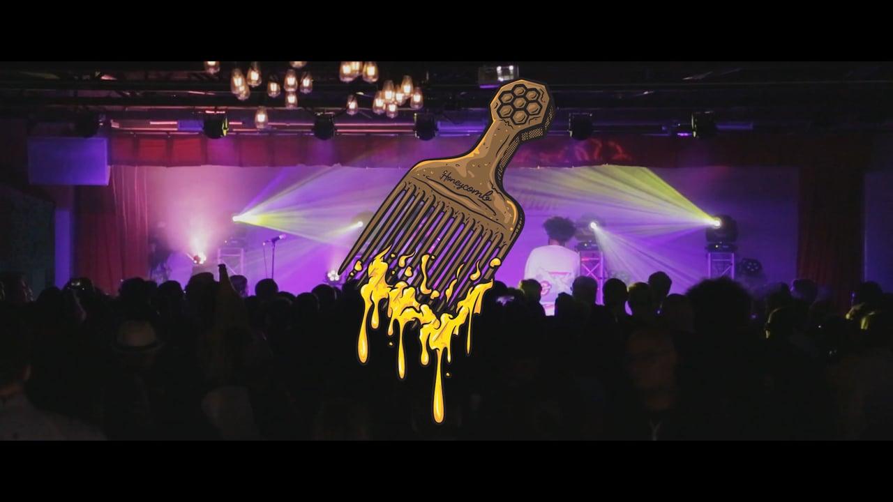 Honeycomb & Leo of Too Many Zooz Jam in Dallas, TX at Deep Ellum