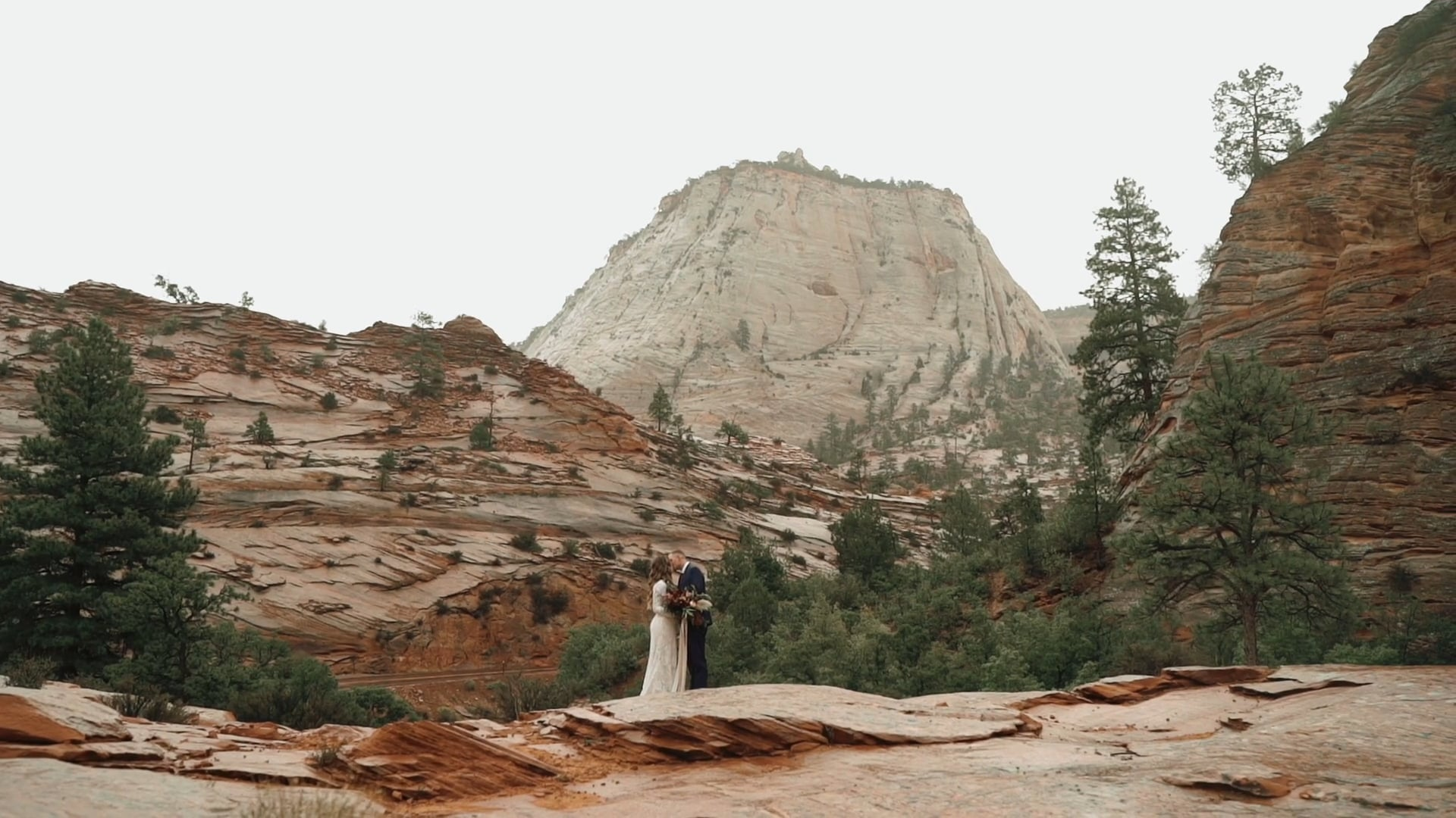 Kelly + Taylor Zion Wedding