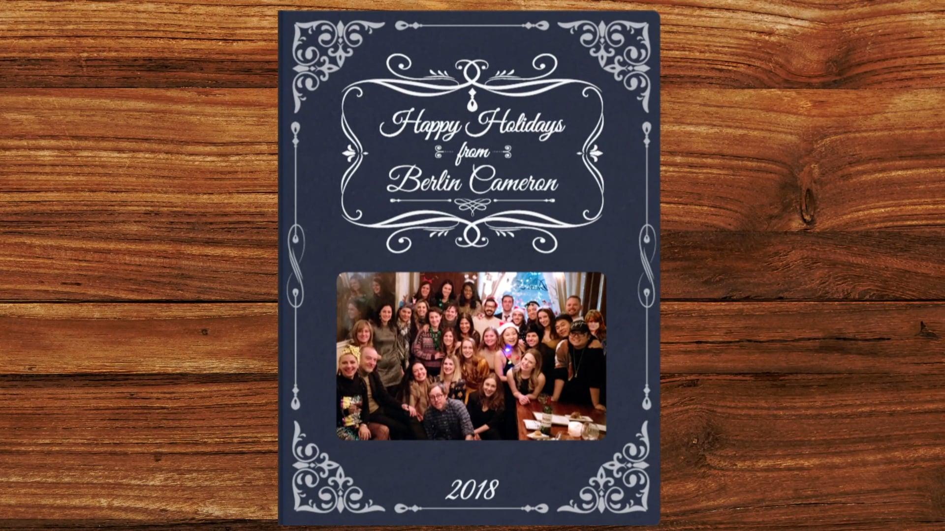 Berlin Cameron Holiday Card