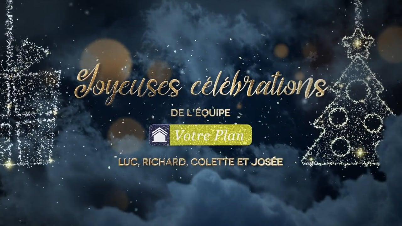 L'équipe Votre Plan vous souhaite de joyeuses fêtes