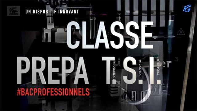 Classe préparatoire pour bacheliers de baccalauréats professionnels ?