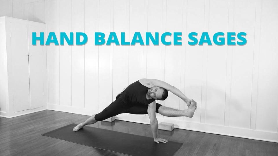 Hand Balance Poses 5