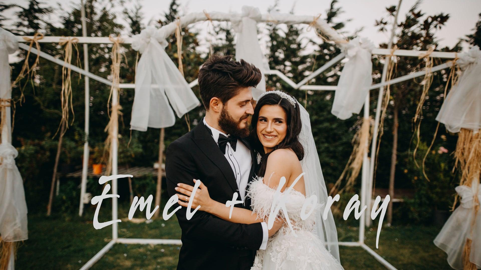 Emel + Koray   Florya Bahçe Düğün Hikayesi