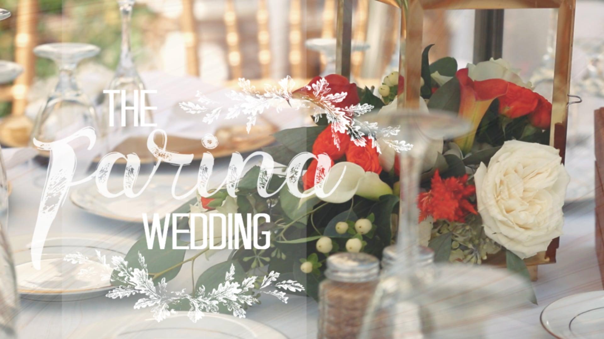 The Farina Wedding