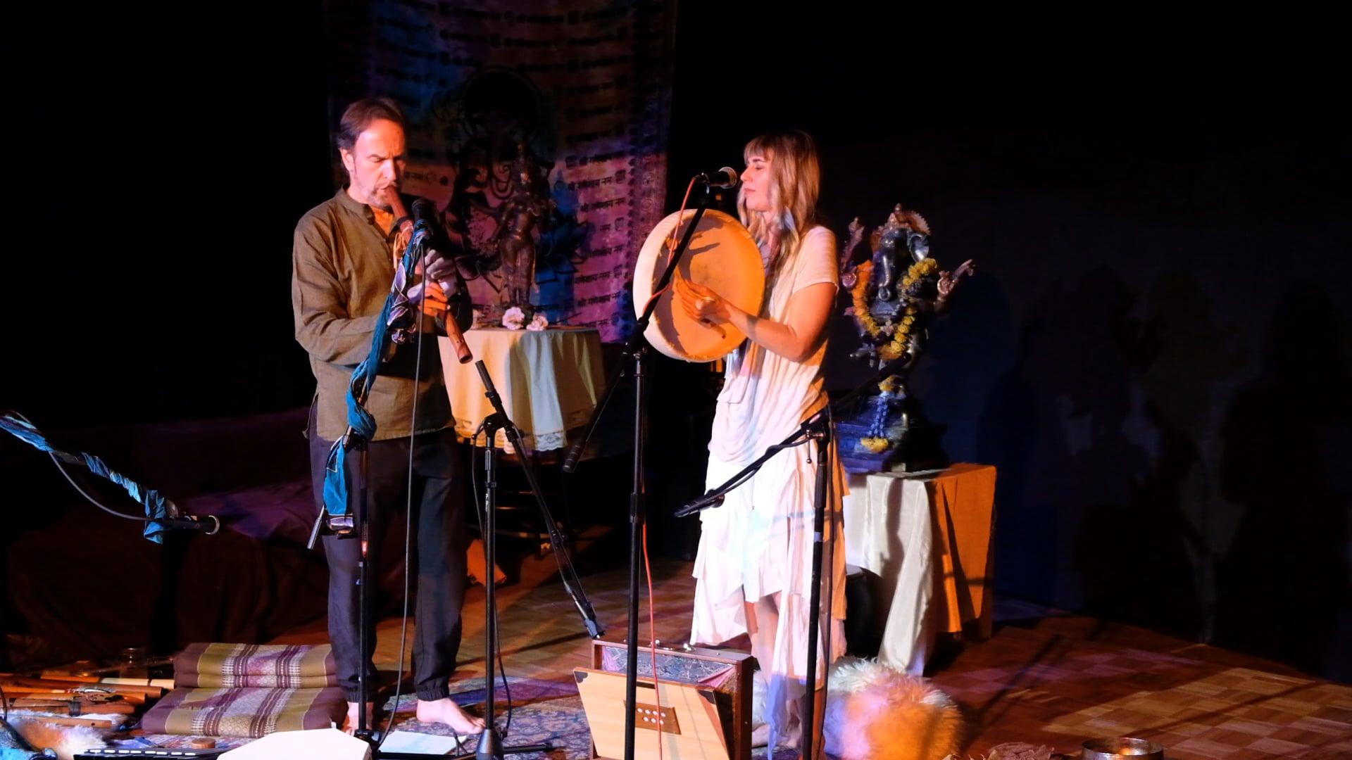 James Marienthal with Cypress Dubin at Key Tea, San Rafael, CA 11.03.18