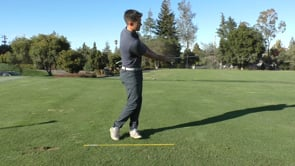Club In Front Of Chest - Finesse Wedge
