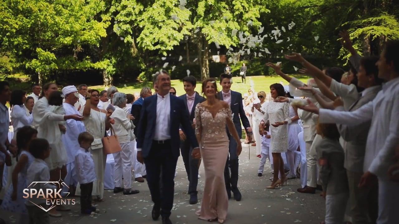 Summer Wedding @Chartreuse de Pomier, France