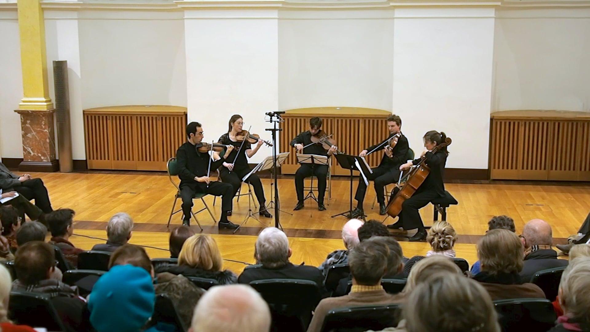 Beethoven - Symphony No.7 for string quintet - Presto