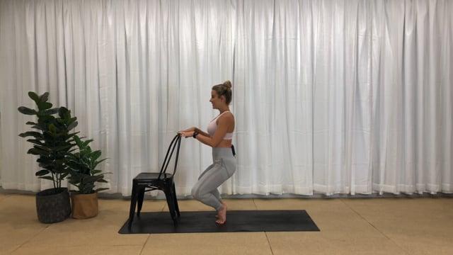 25min barre lower body workout