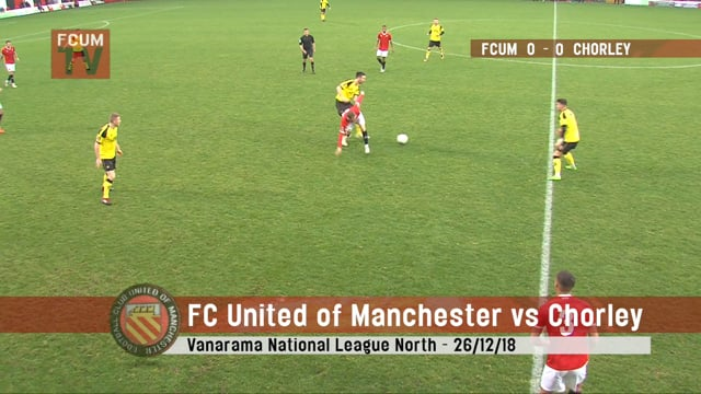 FCUM vs Chorley - 26/12/2018 - Goals