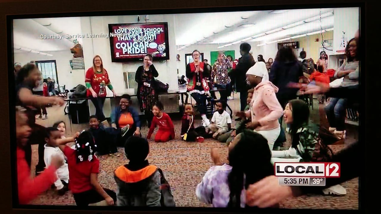 Dater HS Christmas party for kids 2018