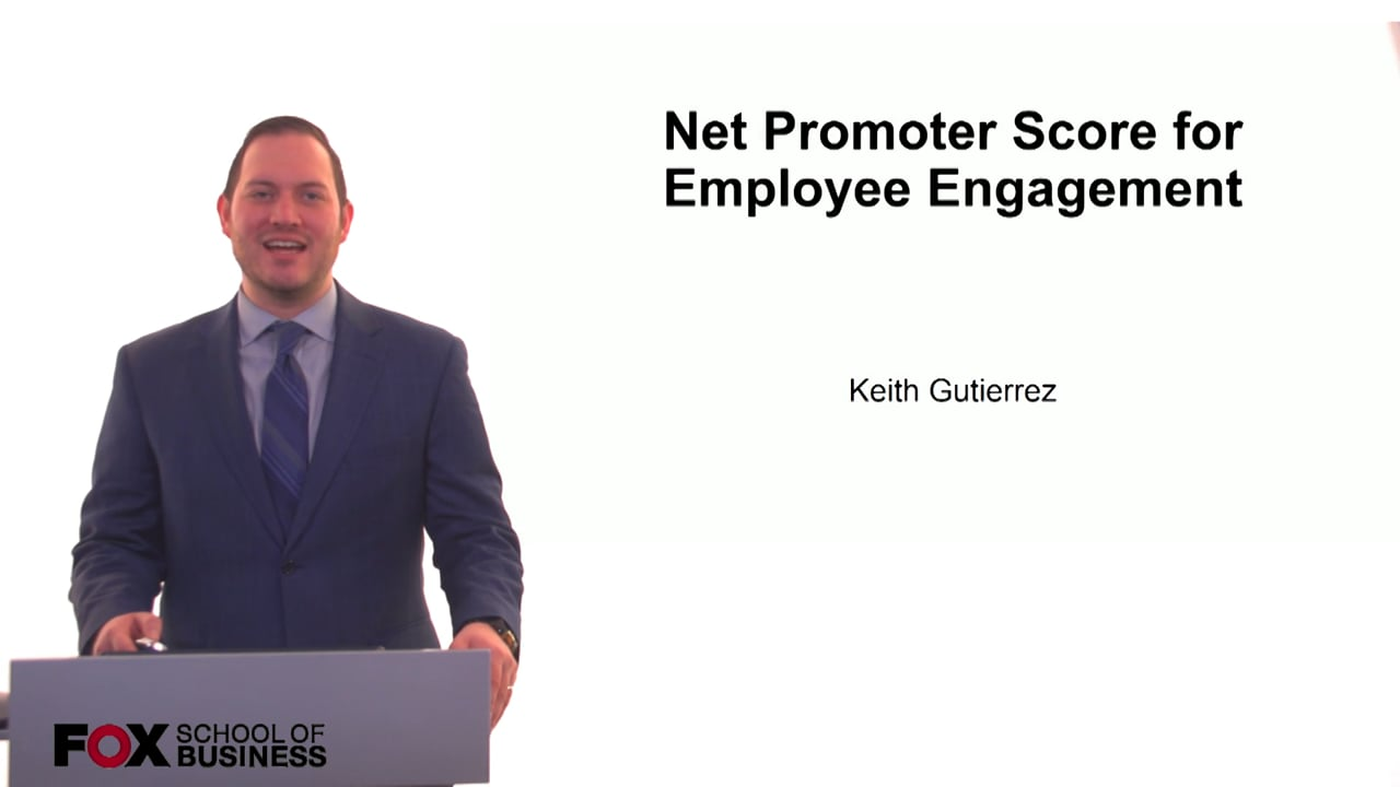 61219Net Promoter Score for Employee Engagement