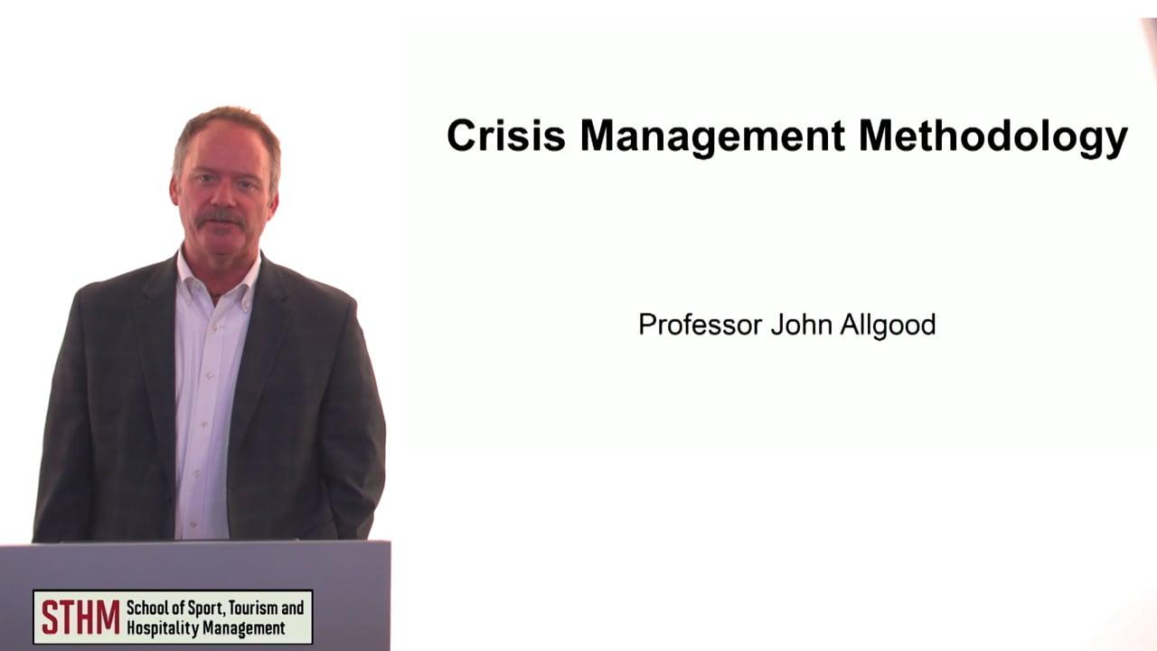 60136Crisis Management Methodology