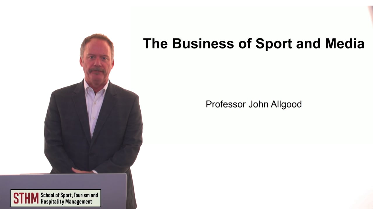 60099The Business of Sport and Media