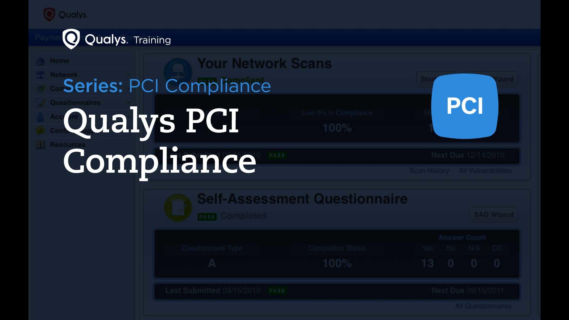 Qualys PCI Compliance