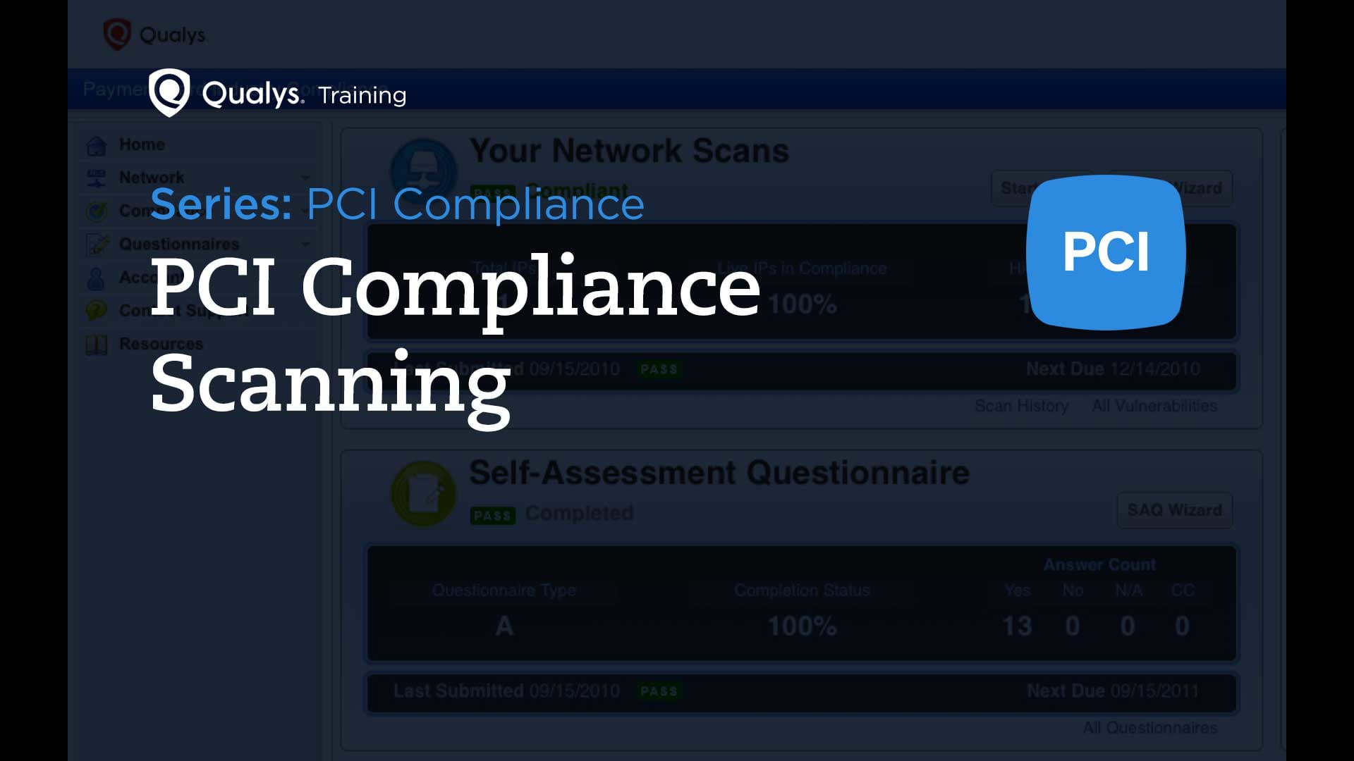 PCI Compliance Scanning