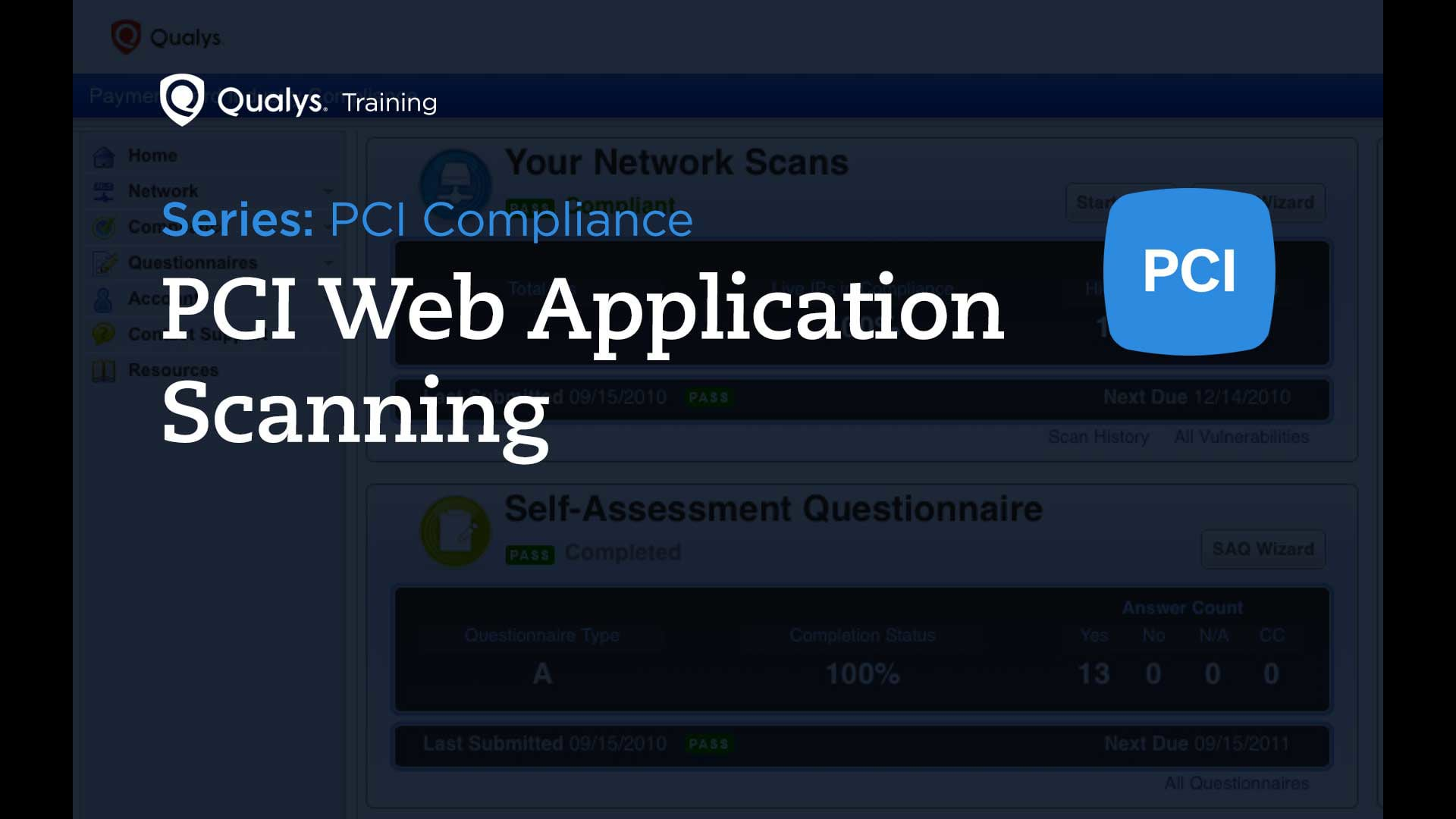 PCI Web Application Scanning