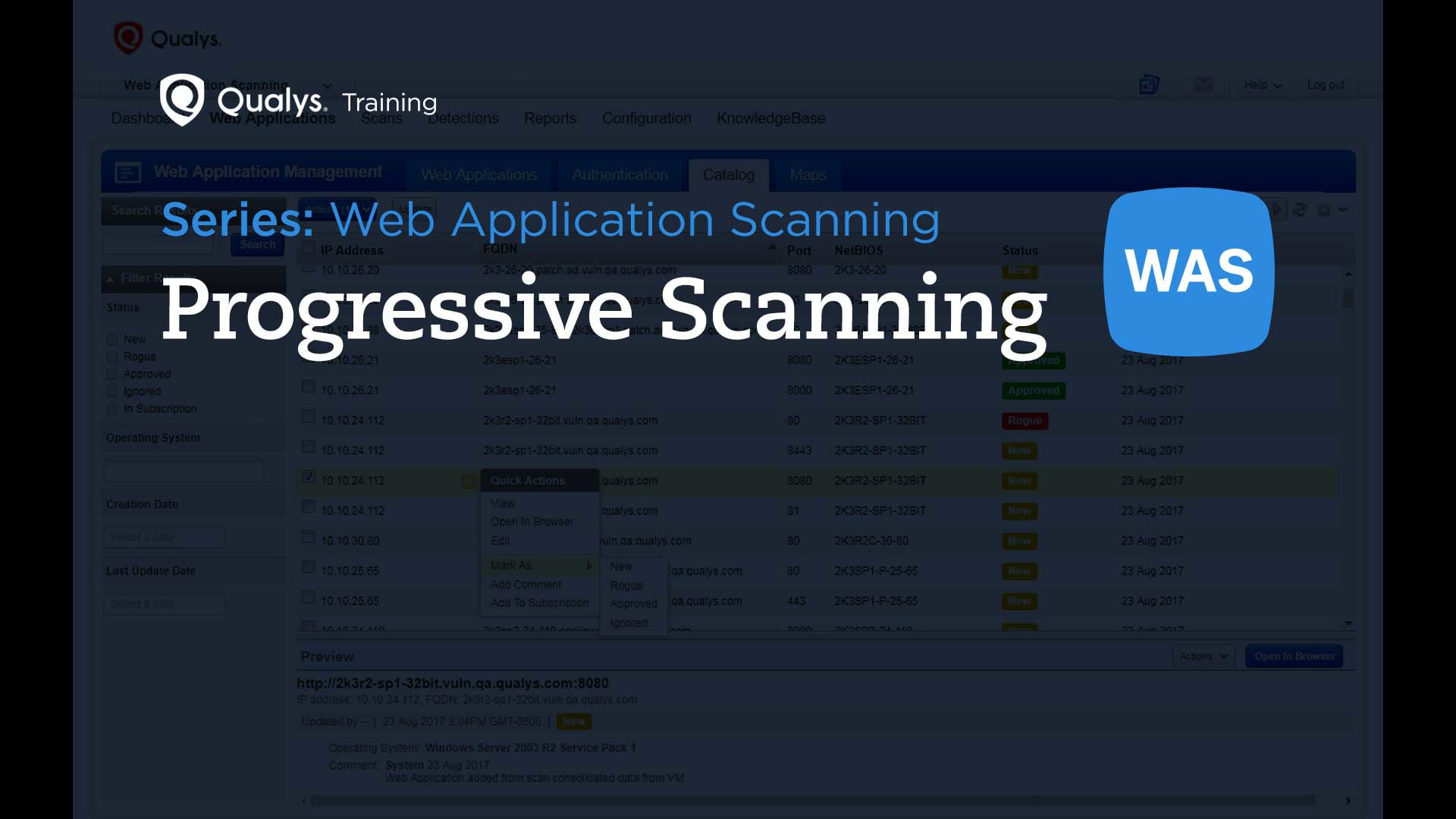 Progressive Scanning