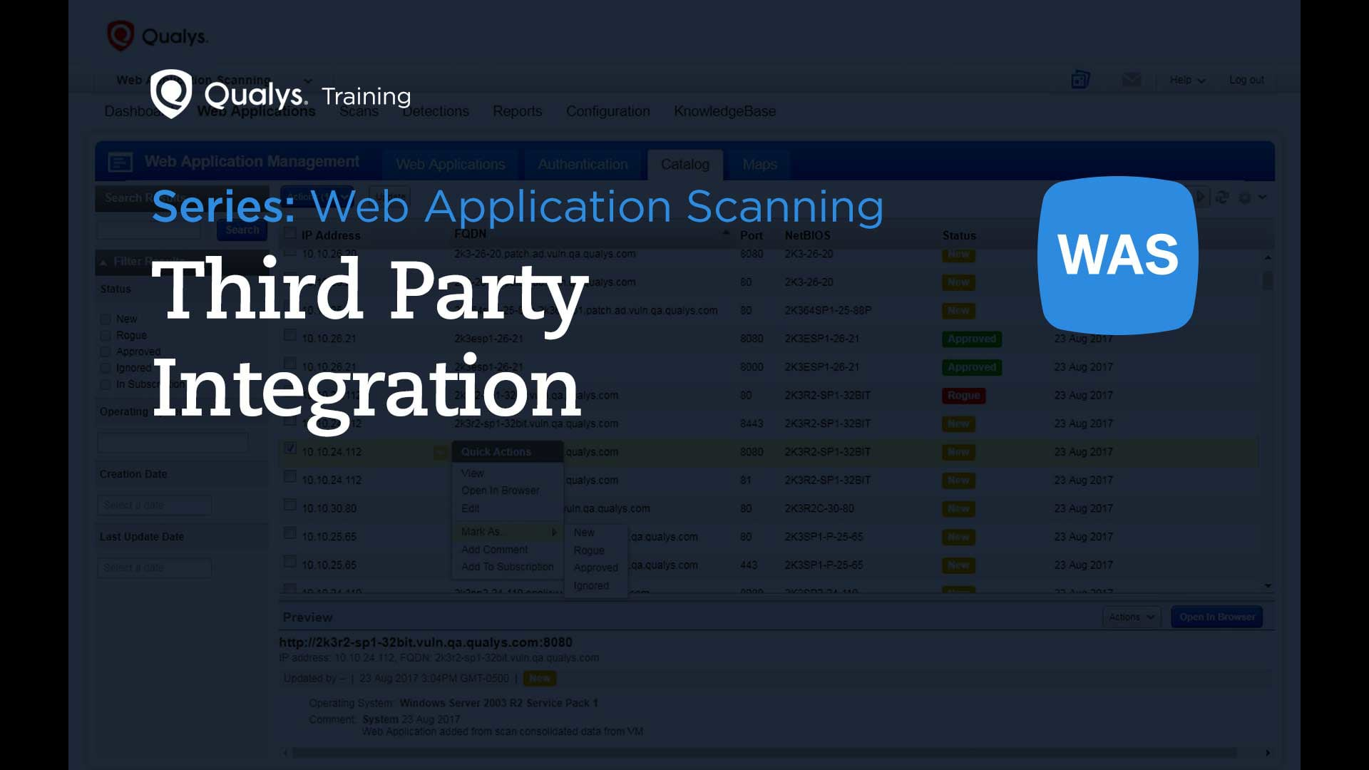 Third Party Integration