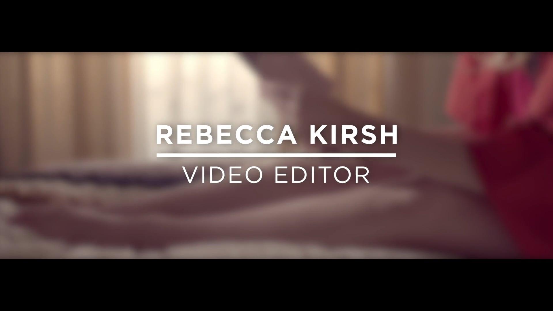 Video Editing Reel