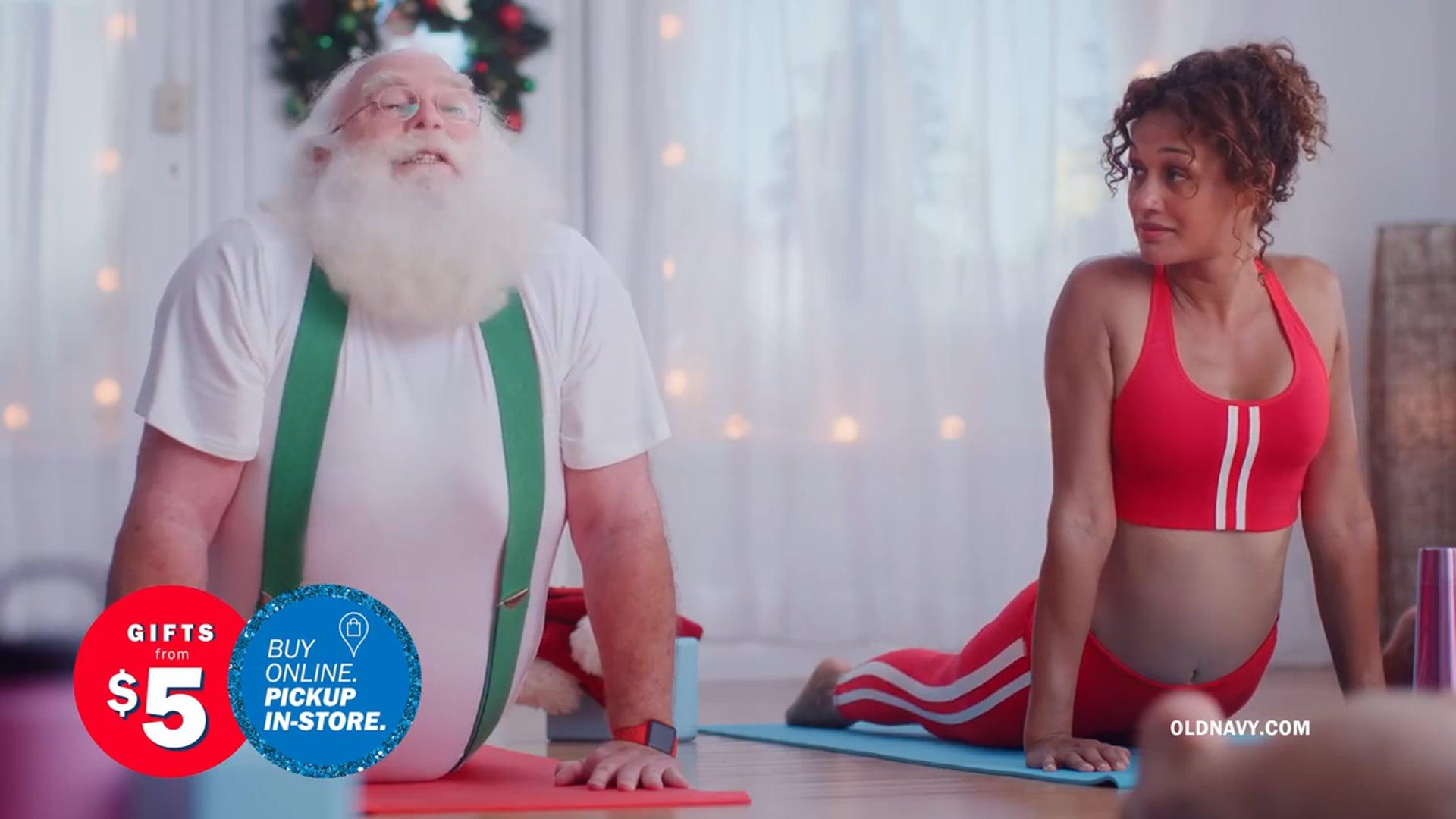 Old Navy: Santa Yoga