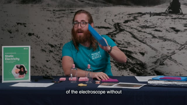 Exploring the Solar System: Static Electricity Activity Training Video from the Explore Science: Earth & Space 2019 Toolkit
