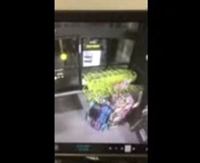 Fire extinguisher douses burglar's attempt to rob local store