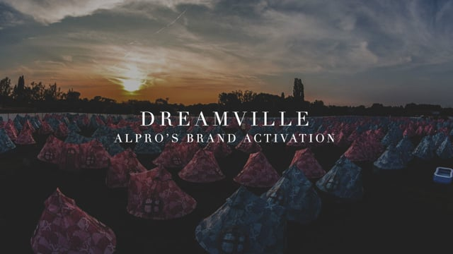 Alpro Visits Dreamville // Tomorrowland Camp