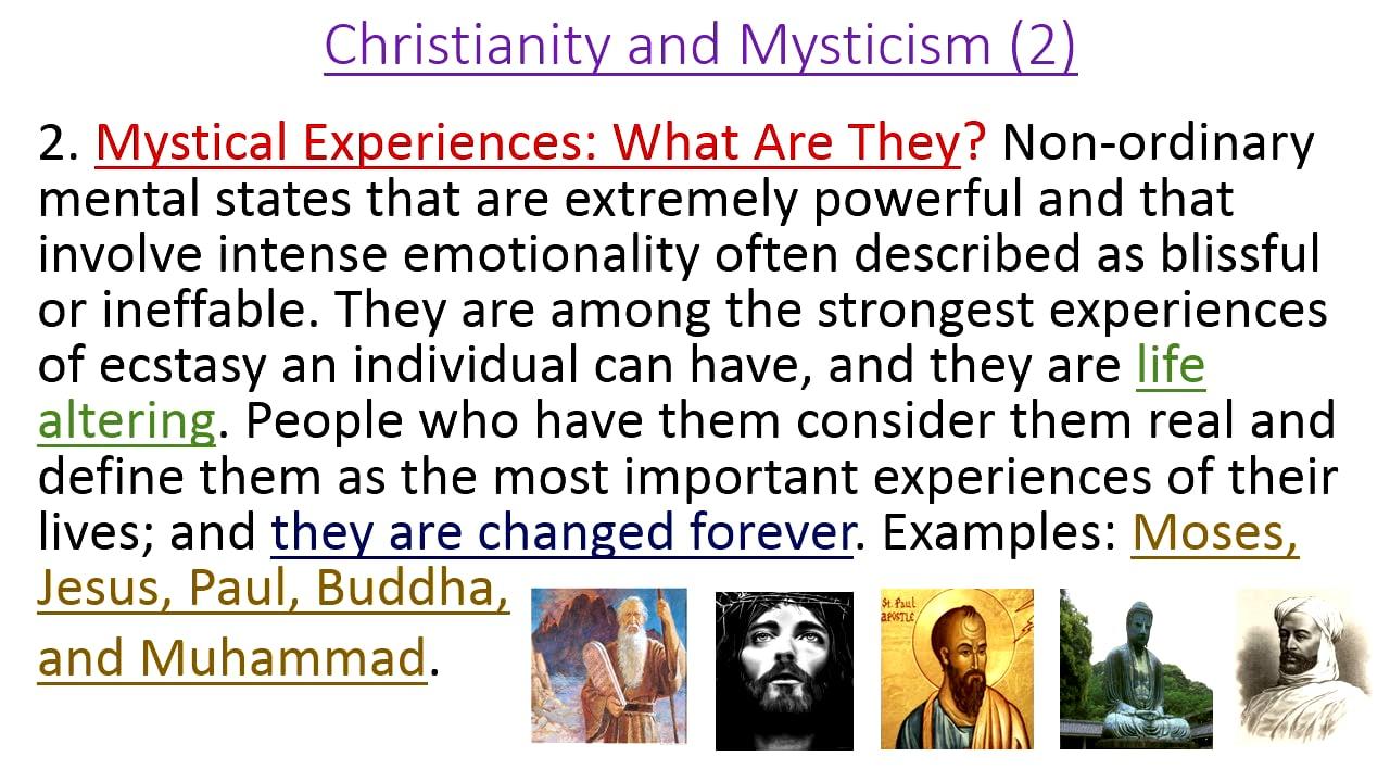 Christian Mysticism: Origins