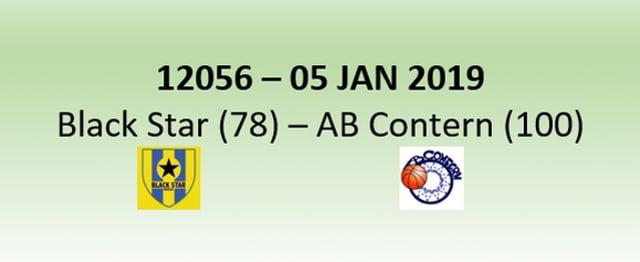 N2H 12056 Black Star (78) - AB Contern (100) 05/01/2019