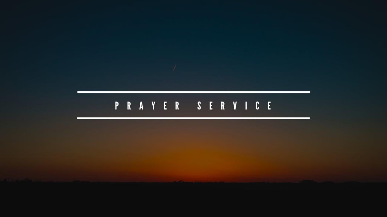 Prayer Service [Parry Sound]