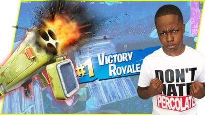 Rocket Blasting AND Headshotting My Way To Victory! - Fortnite Battle Royale