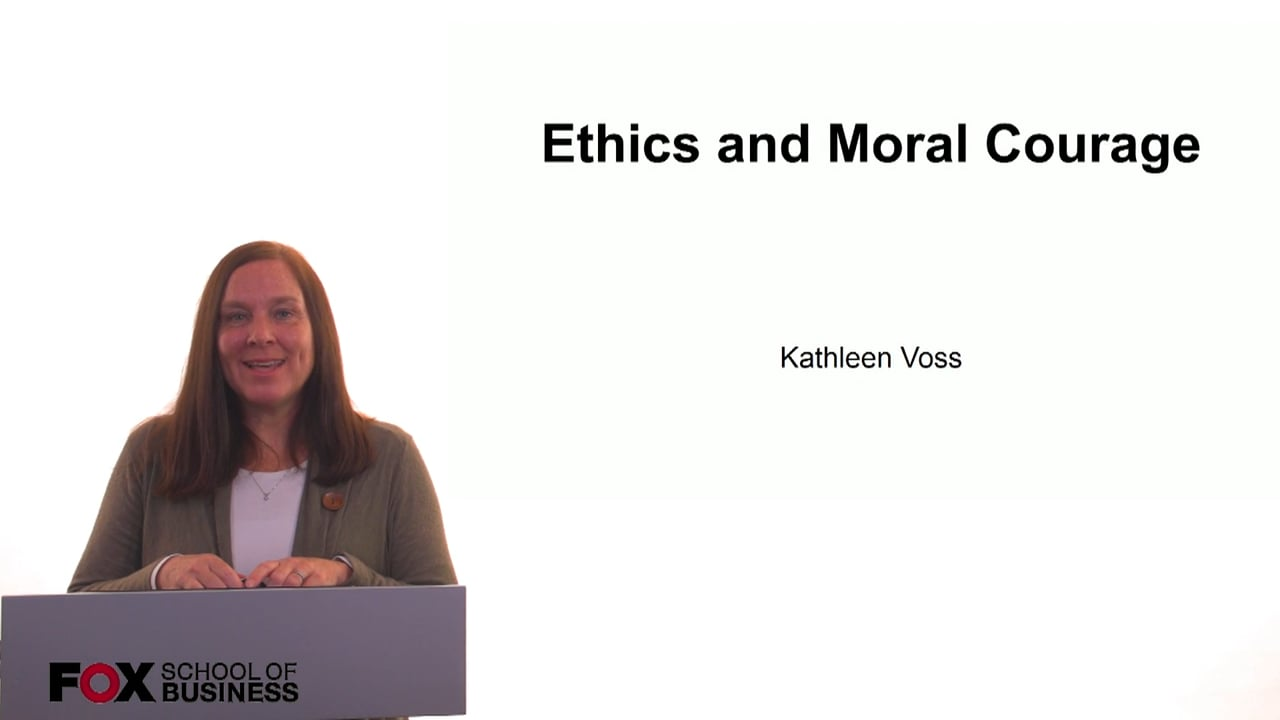 61232Ethics and Moral Courage