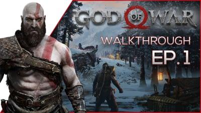 Jimbo's FIRST Series on The Website! - God of War Walkthrough EP.1