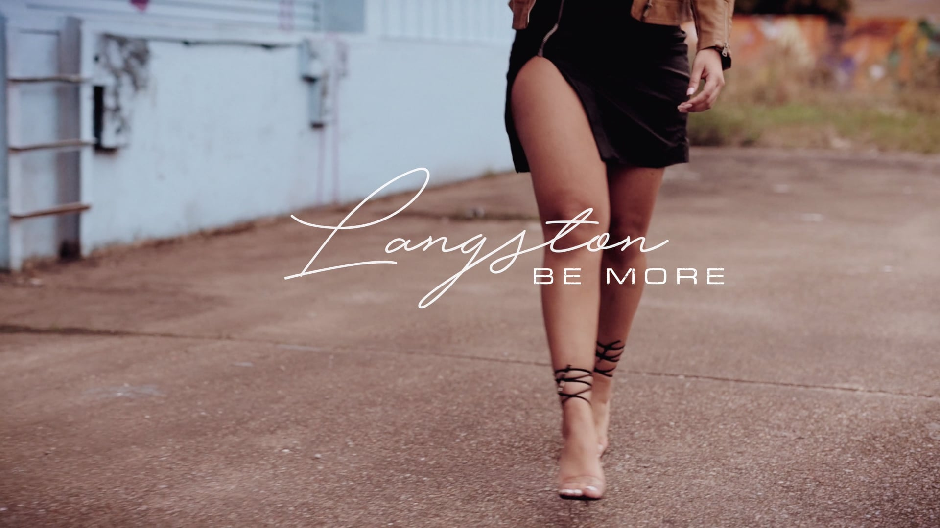 Langston - Be More (Official Video)