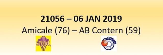 N1D 21056 Amicale Steinsel (76) - AB Contern (59) 06/01/2019