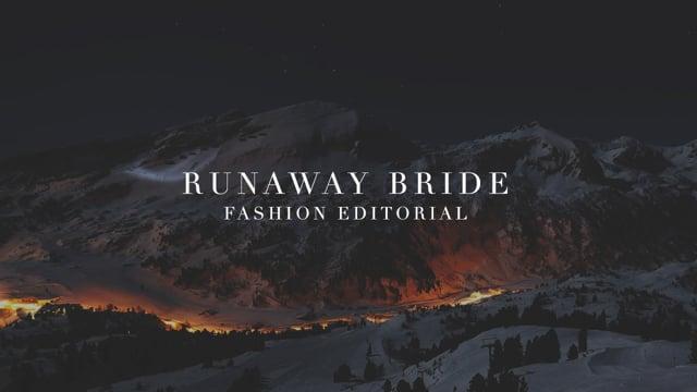 Fashion Editorial — Runaway Bride by Li Photography