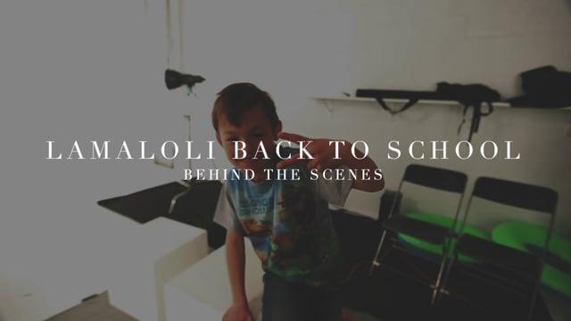 Lamaloli Shooting 2 [Backstage]