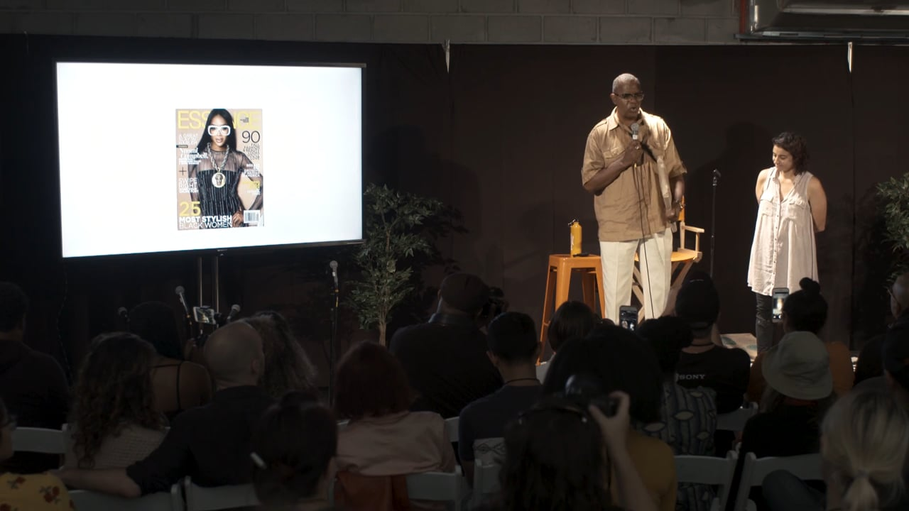 An Afternoon with Jamel Shabazz –Photoville 2018