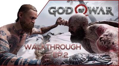 INTENSE 1v1 Against A Stranger! - God of War Walkthrough EP.2