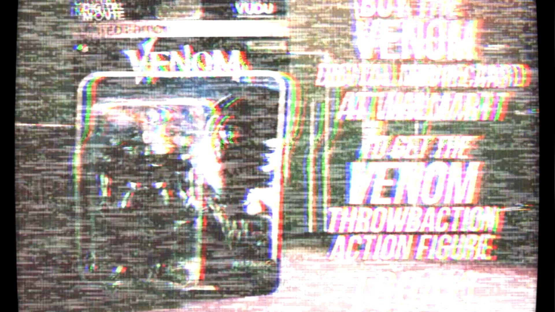 VENOM: Throwbaction Figure