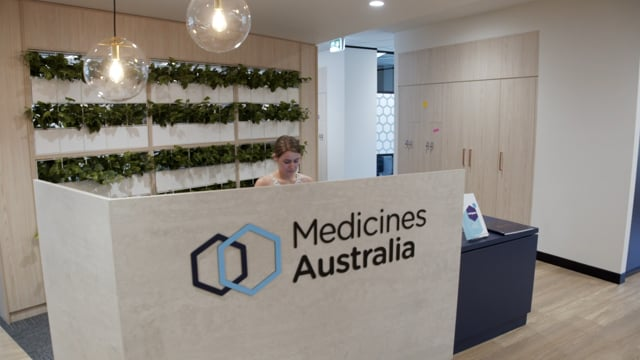 Medicines Australia Office Fit out