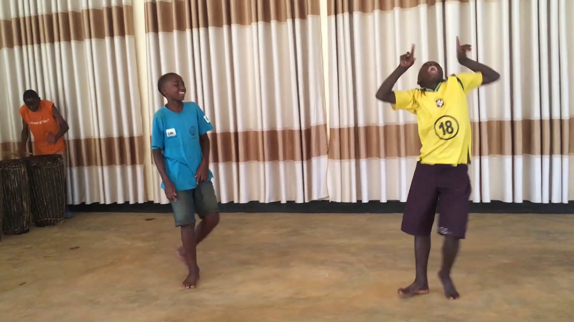 International Sports and Music Project - where your donations go 1/3