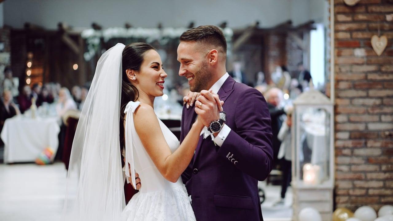 Janka a Michal svadobný videoklip