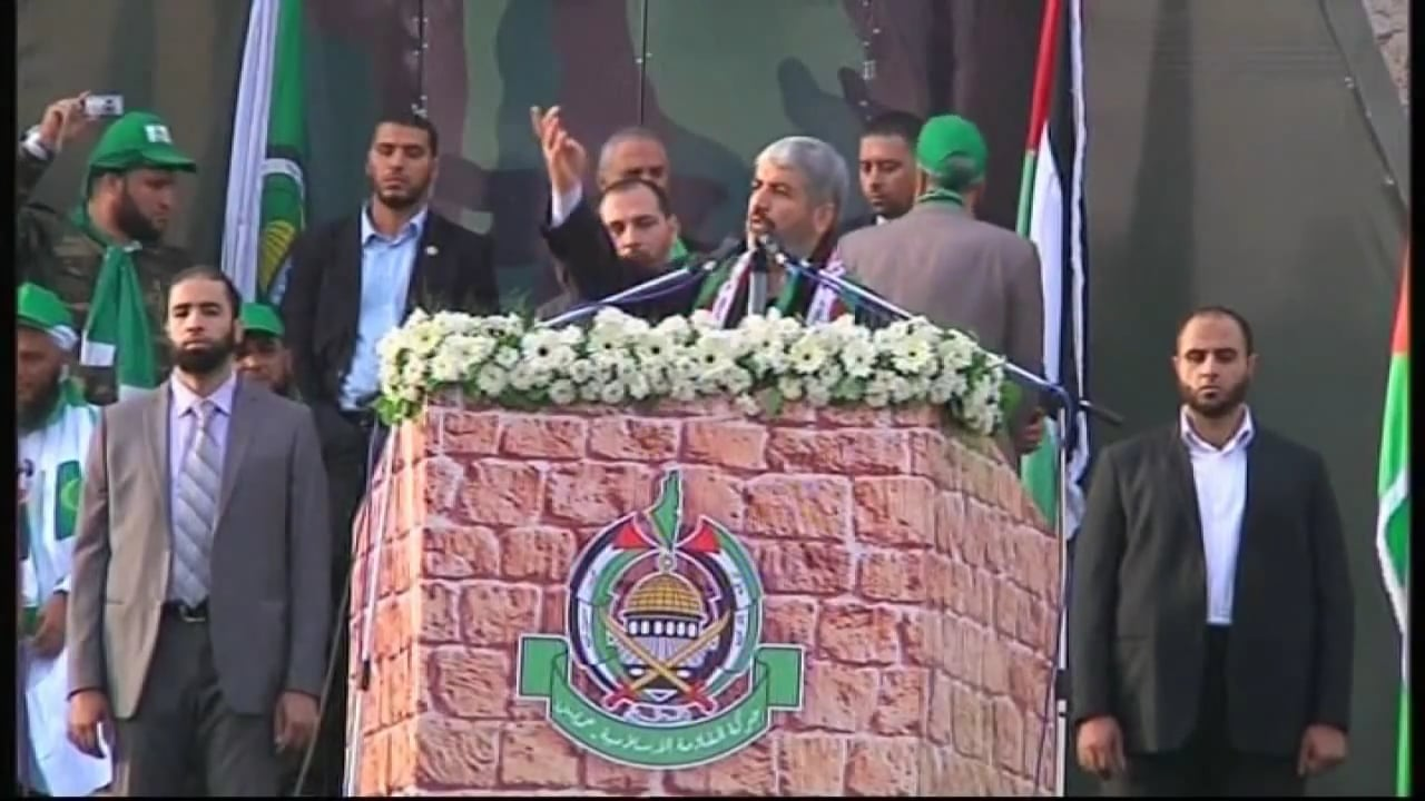 Channel 4 News  - Interview with Hamas leader Khaled Meshaal on Palestine, Israel and Syria