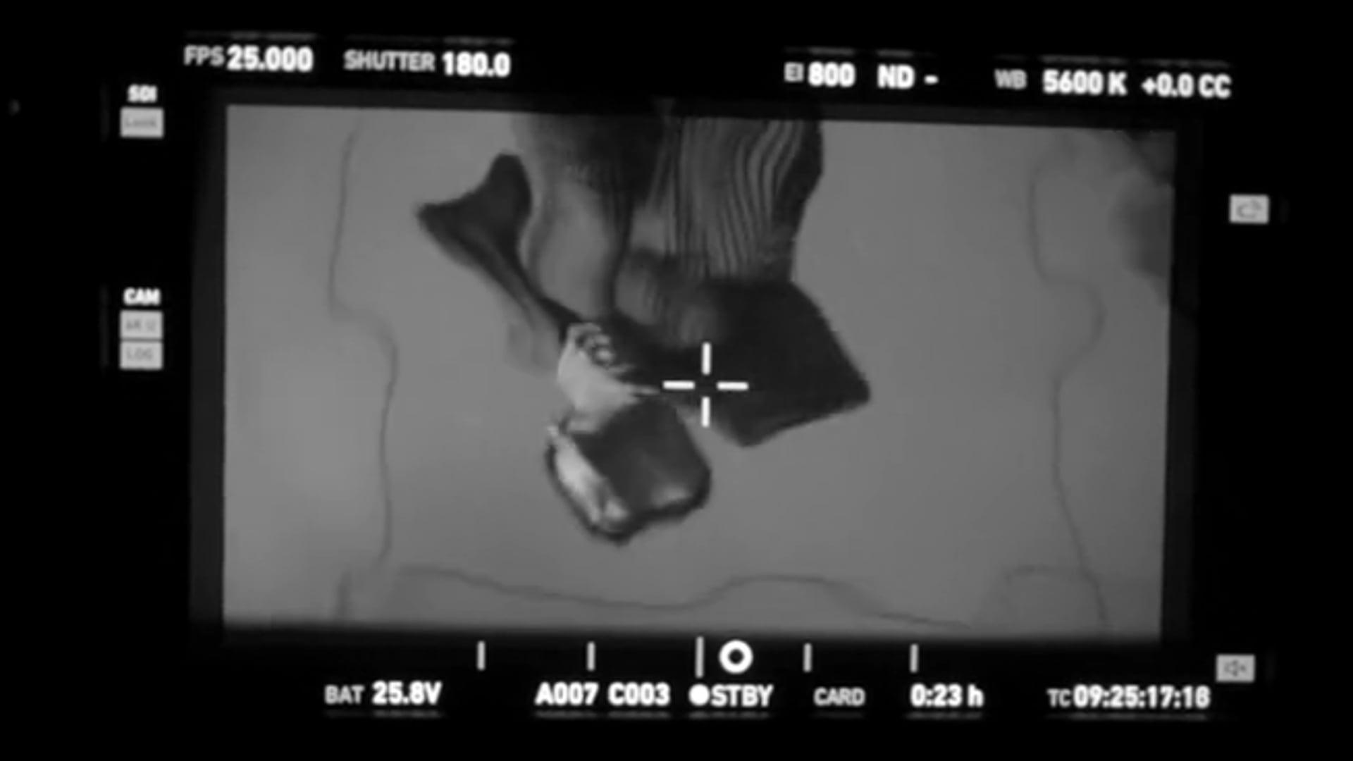 易烊千玺 X  HEXAGON COLLECTIVE  'Liquid Poetry'  /Behind-the-scenes