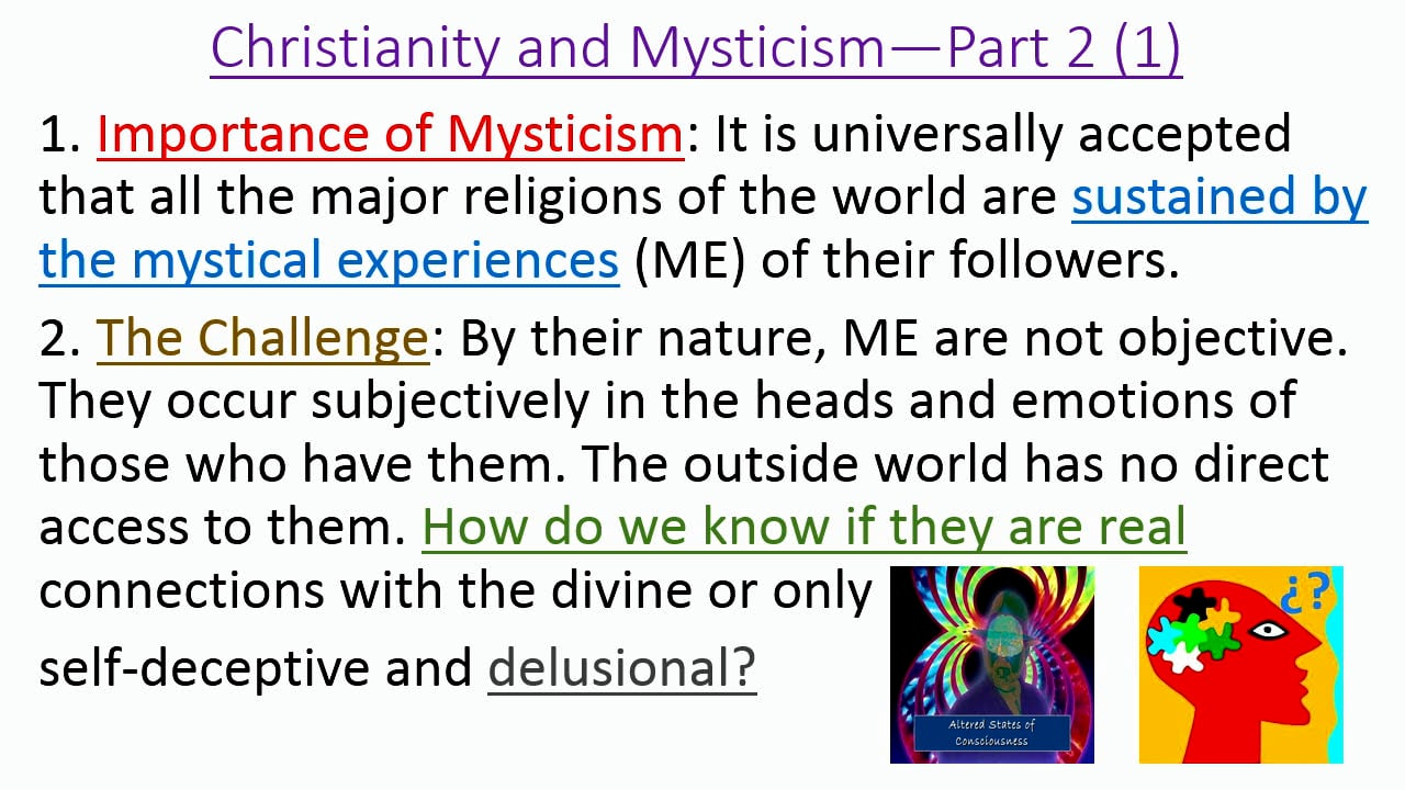 Mysticism in the Christian Faith: Mysticism in the Old and New Testaments