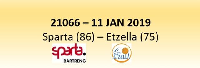 N1D 21066 Sparta Bertrange (86) - Etzella Ettelbruck (75) 11/01/2019